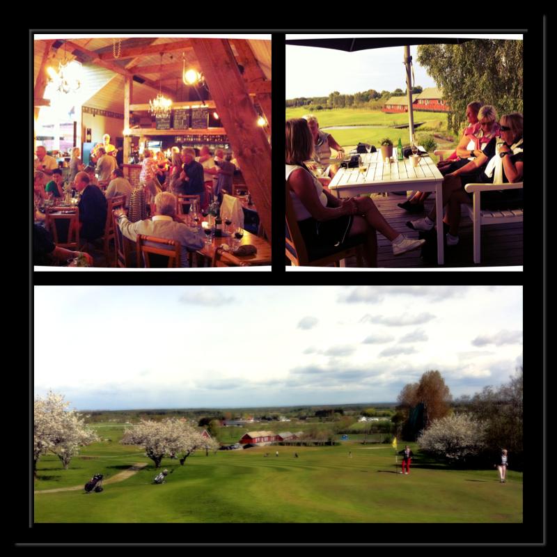 Fotokollage till Golfpaket meny 2013